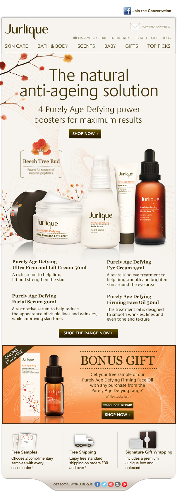 Jurlique anti-ageing